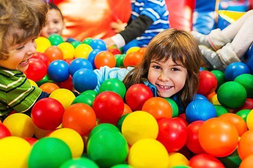 Kids Ball Pool Set Up UK gallery 1