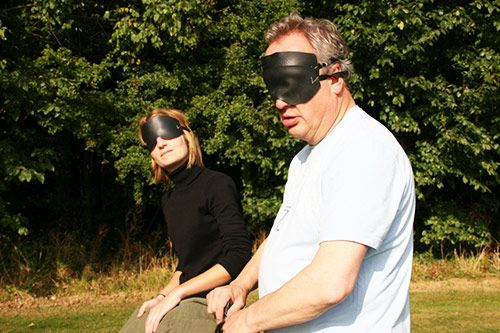 Blindfold Tent Pitching gallery 2