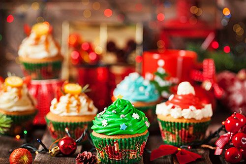 Christmas Cupcake Decorating gallery 2