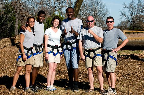 High Ropes Course For Team Building gallery 2