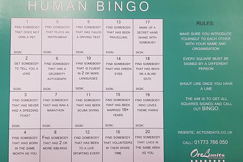 Human Bingo gallery 1