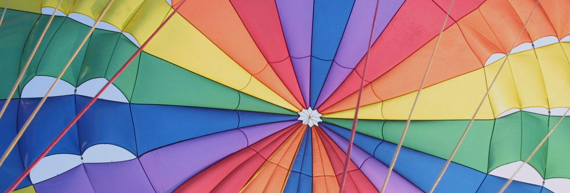 human parachute
