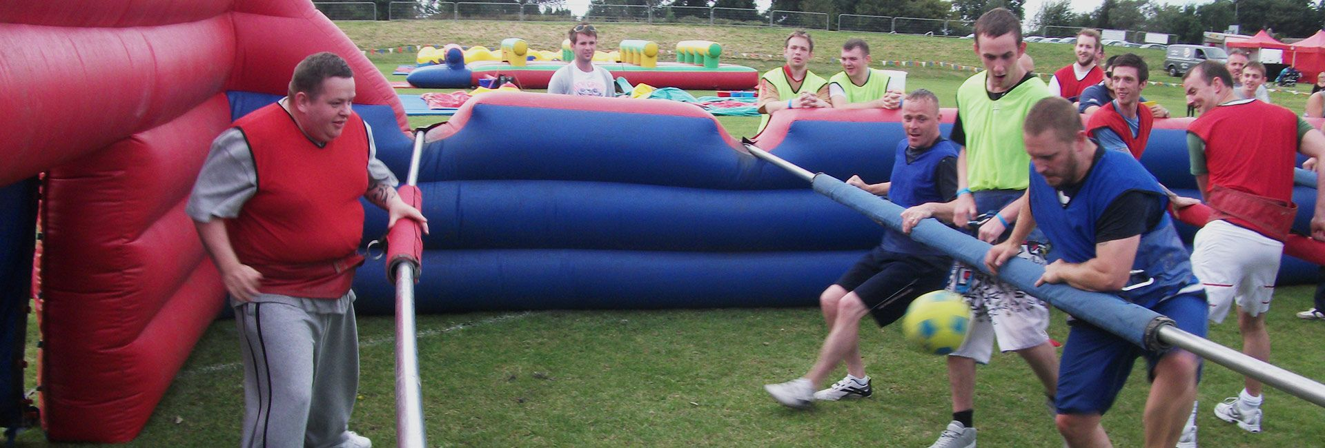 human table football team building