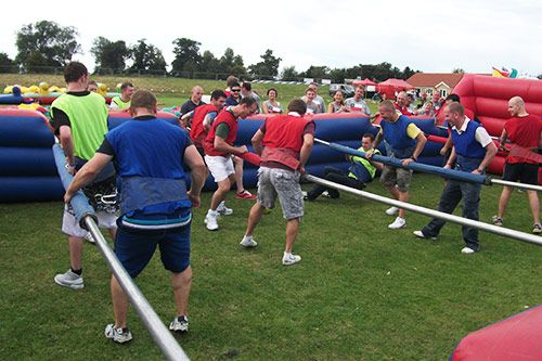 Human Table Football Team Building gallery 1