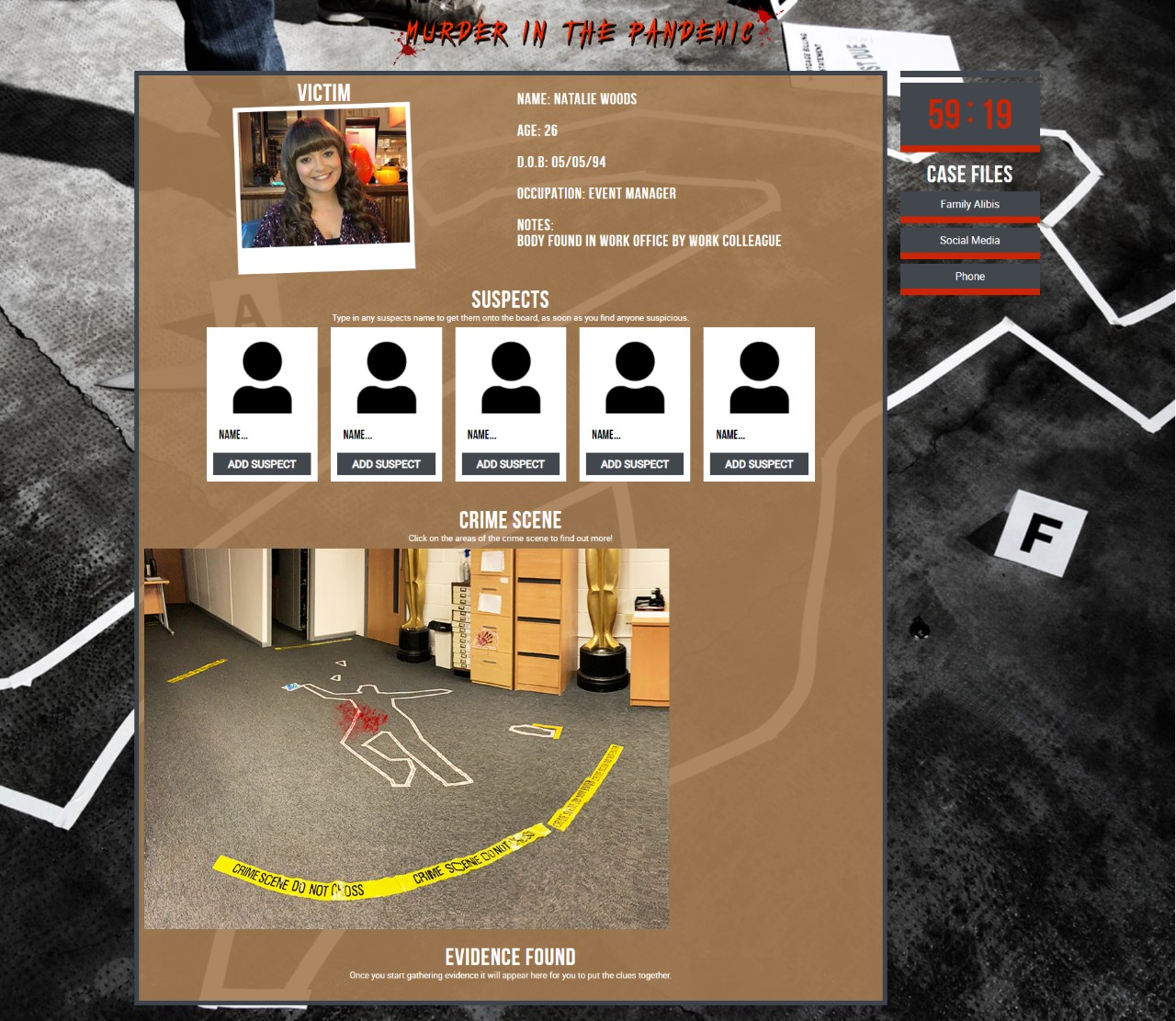 Murder in the Pandemic gallery 1