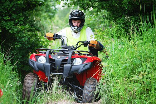 Quad Biking Activity Days for Team Building gallery 1