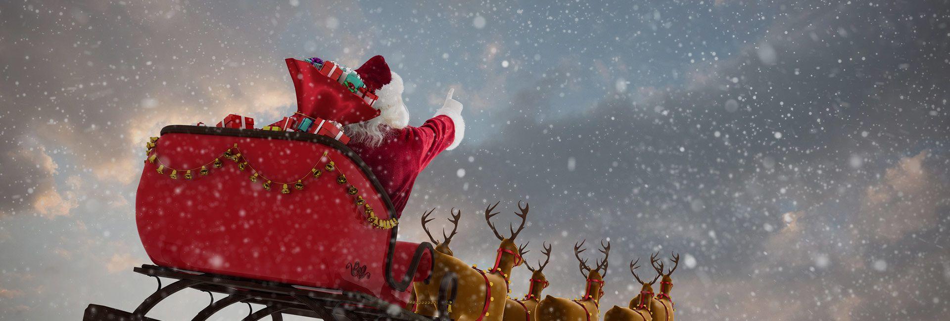 santa's sleighbox derby
