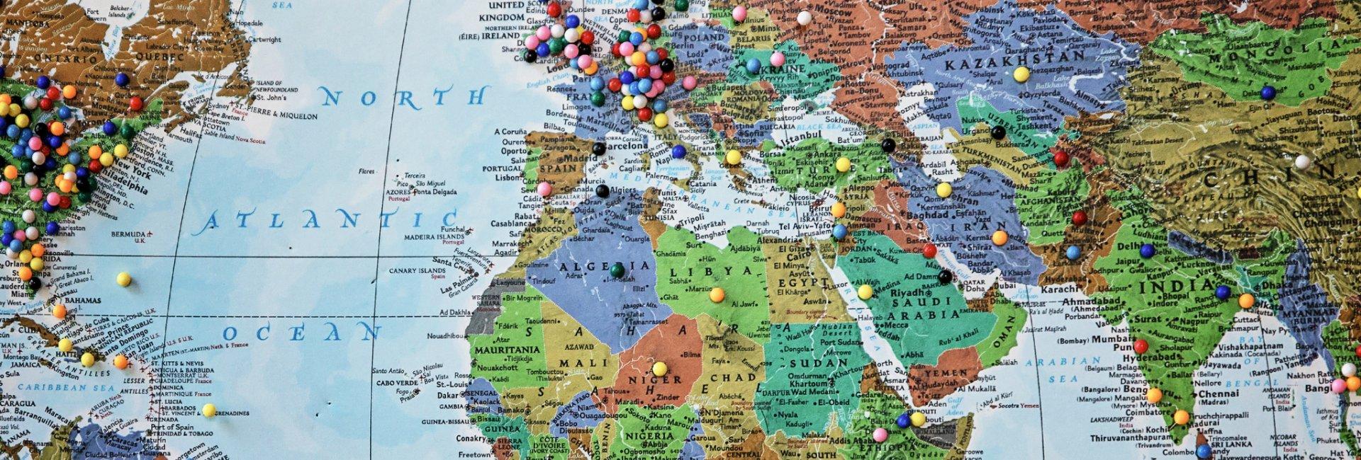 virtual globe trotters