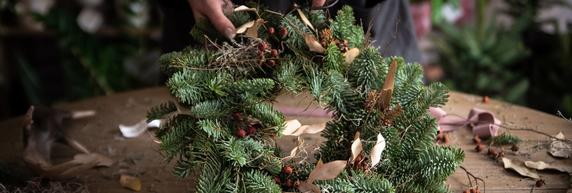 virtual wreath making