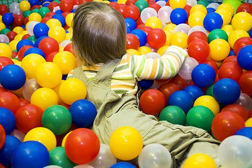 Kids Ball Pool Set Up UK gallery 2