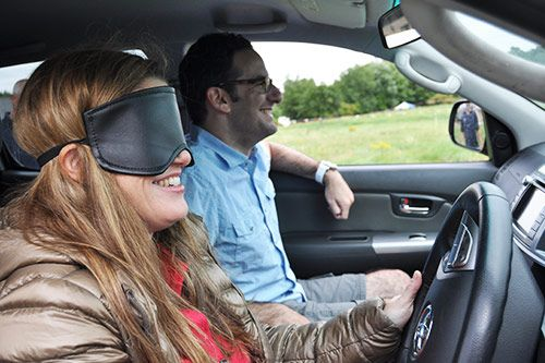 Blindfold Driving for Corporate Events gallery 1