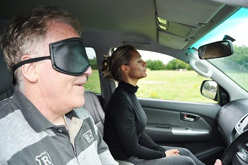 Blindfold Driving for Corporate Events gallery 2