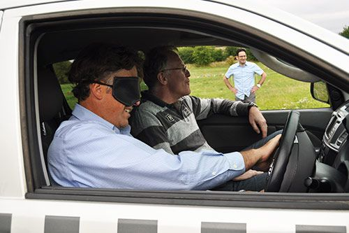 Blindfold Driving for Corporate Events gallery 3