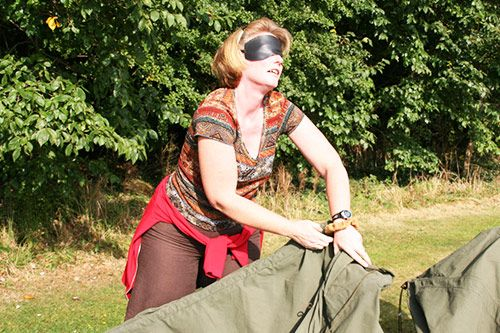 Blindfold Tent Pitching gallery 3