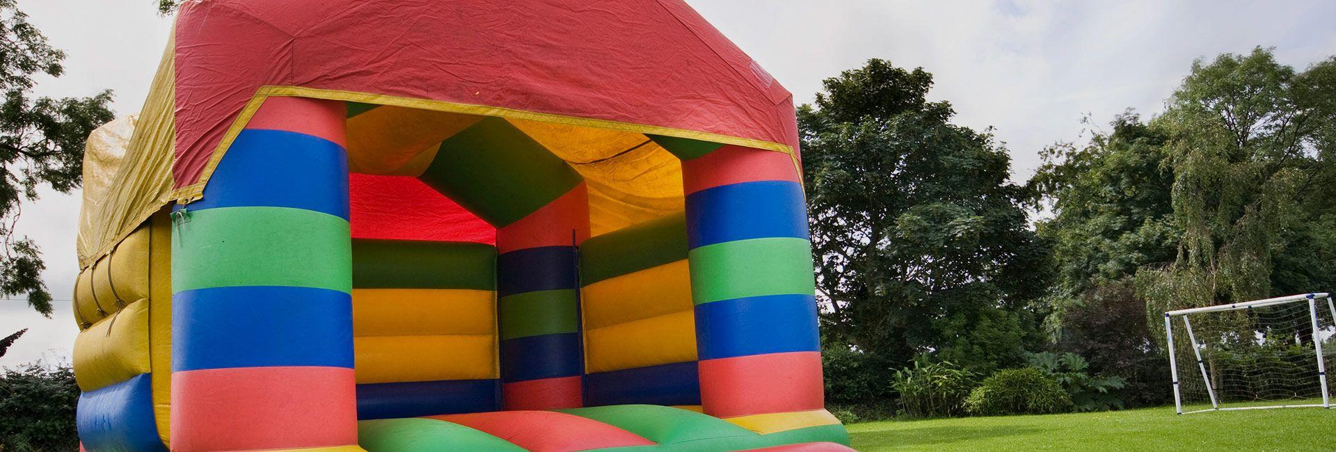 bouncy castles family fun days