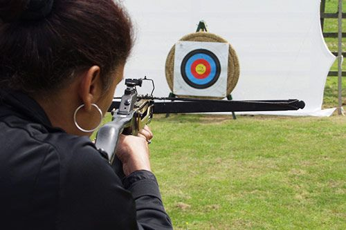 Crossbow Shooting Team Building Activity gallery 1