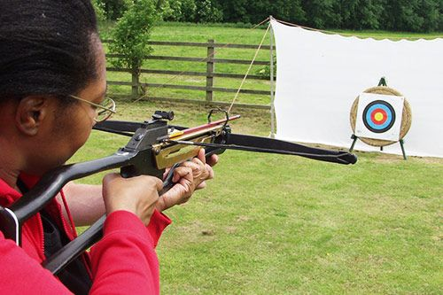 Crossbow Shooting Team Building Activity gallery 2