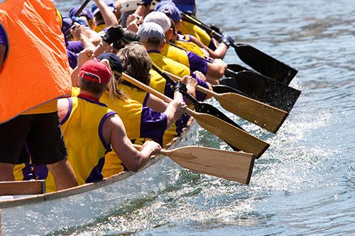 Corporate Dragon Boat Racing Events gallery 1