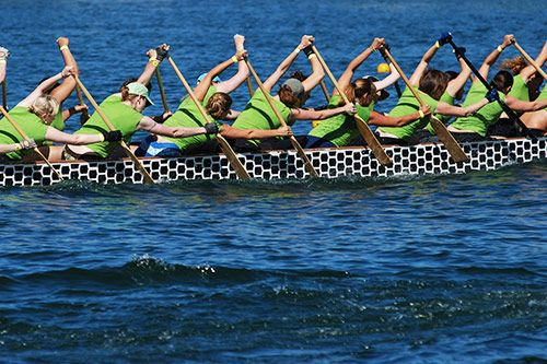 Corporate Dragon Boat Racing Events gallery 2