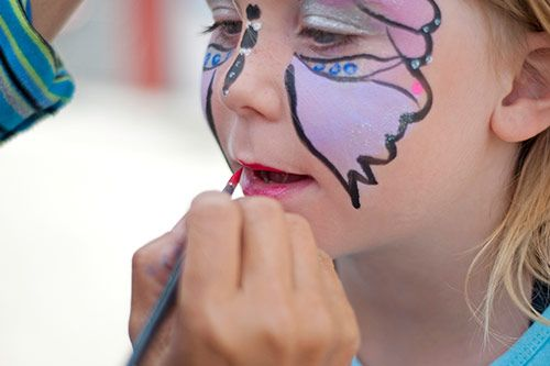 Face Painting Activities for Company & Family Fun Days gallery 2