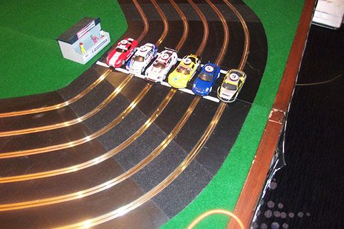 Giant Six Lane Scalextric gallery 1