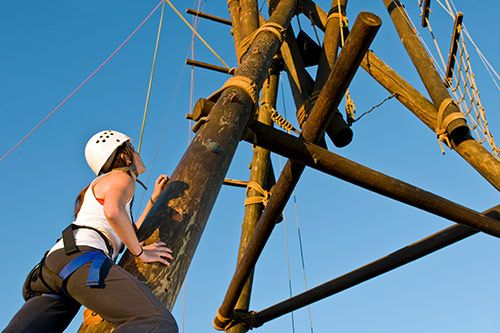 High Ropes Course For Team Building gallery 3