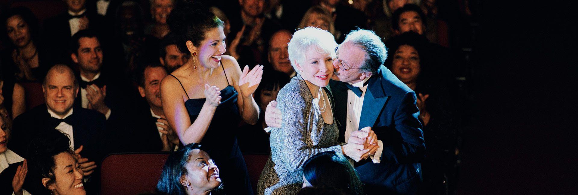 hollywood awards evening
