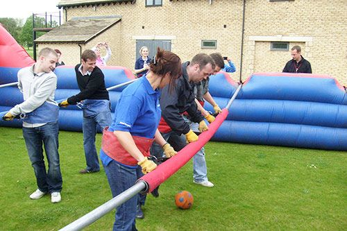 Human Table Football Team Building gallery 2
