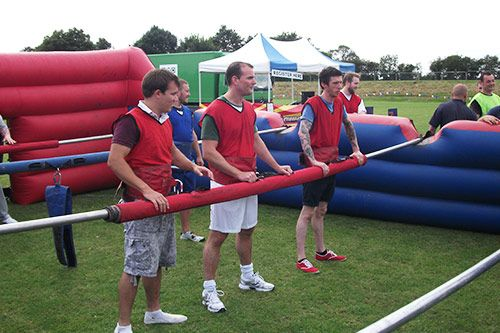 Human Table Football Team Building gallery 3