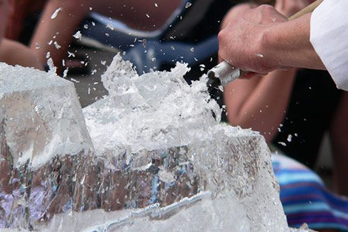 Ice Sculpting Team Building Events gallery 1