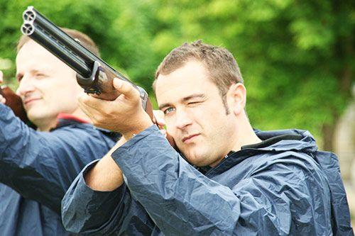 Laser Clay Shooting gallery 1