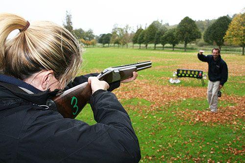 Laser Clay Shooting gallery 2