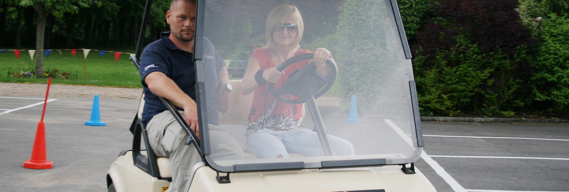 reverse steer driving