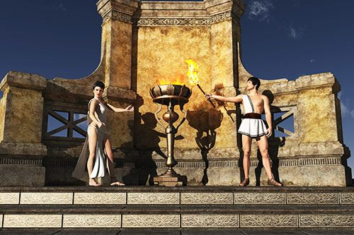 Roman Themed Party & Events gallery 2