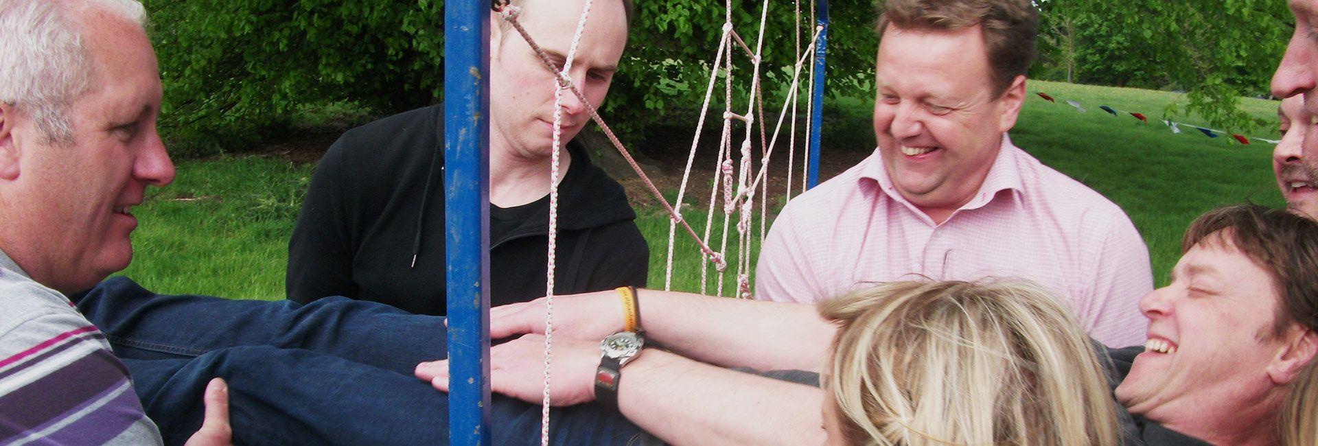 outdoor team work challenges & events uk