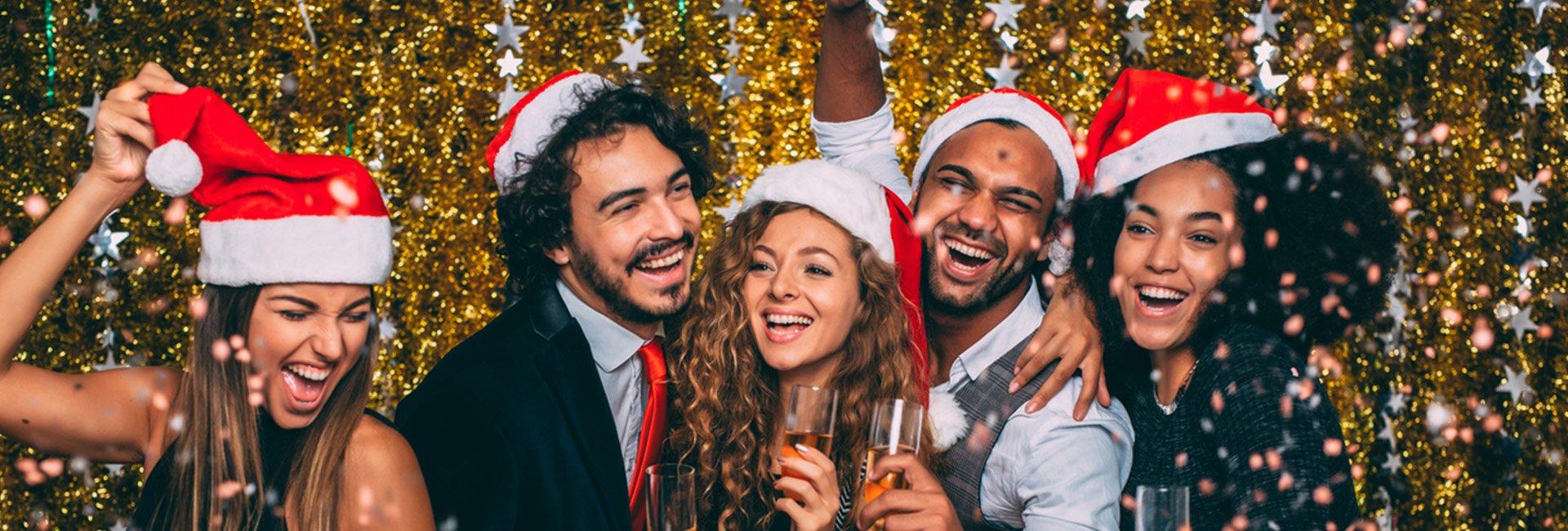 unique christmas party events